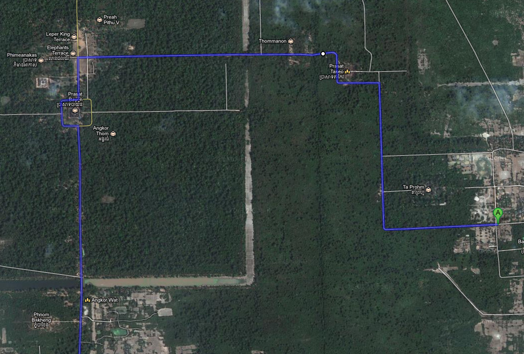 The Longest 14km way out Angkor